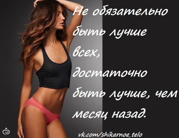 Самые лучшие мотиваторы к похудению