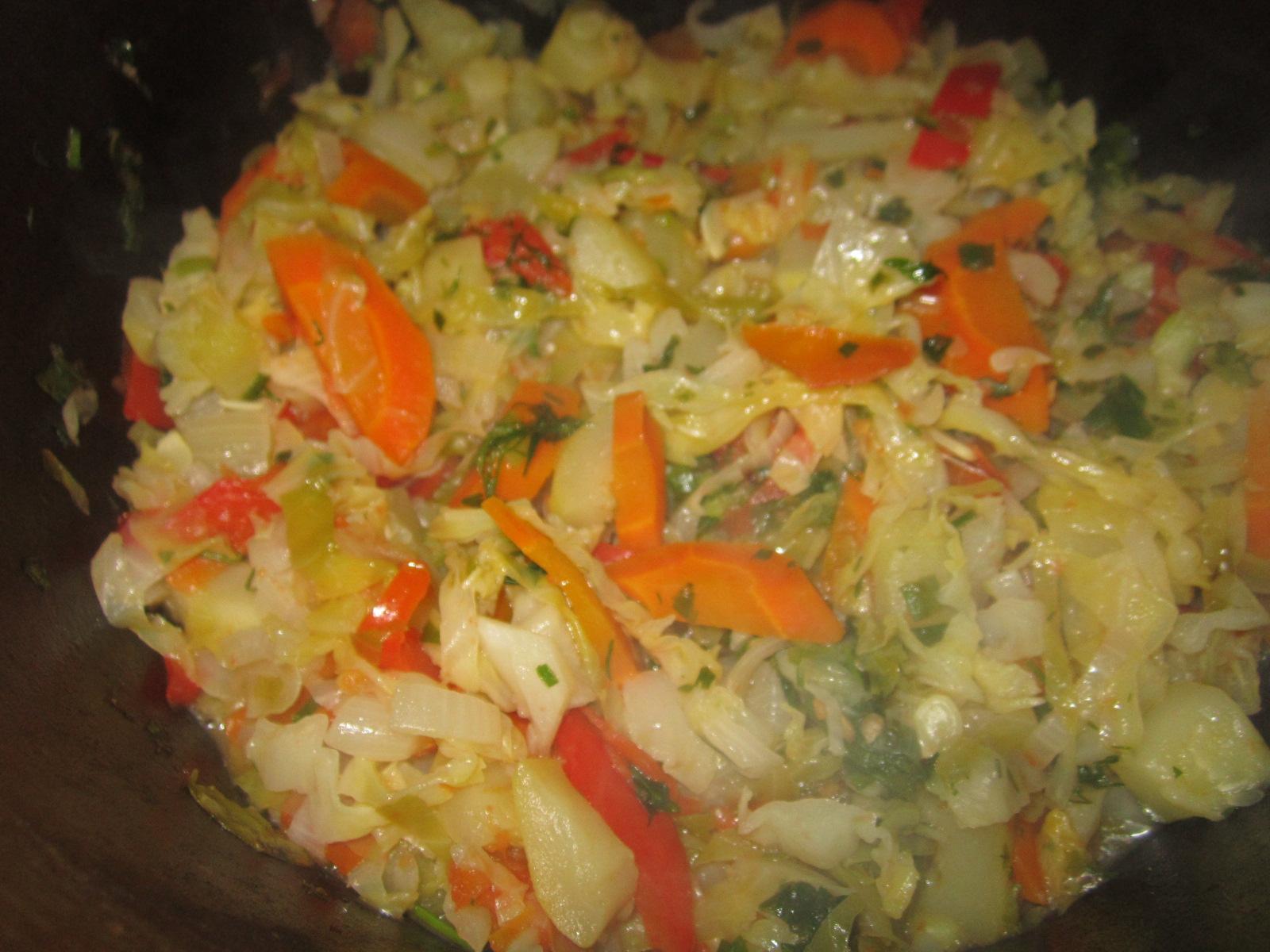 Рагу из овощей для детей